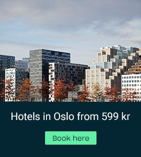 Oslo from 599 kr