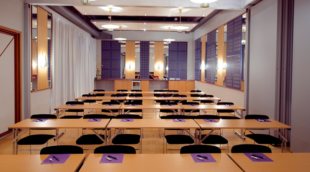 Large conference room at Articus Hotel in Harstad