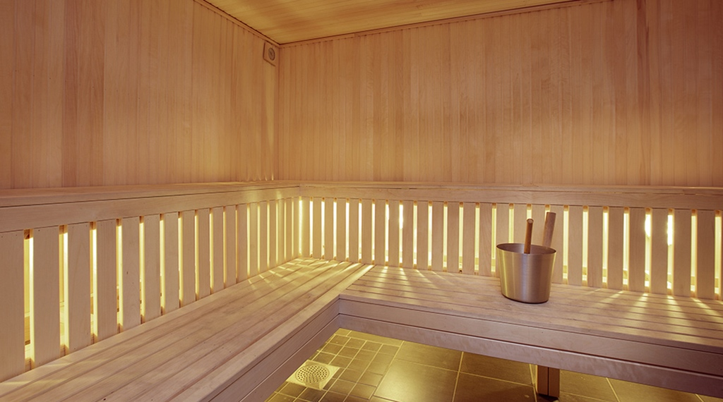 Quality sauna and spa at Hotel Arvidsjaur