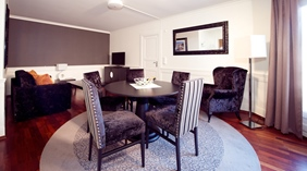 Well-furnished large suite at Atlantic Hotel in Sandefjord