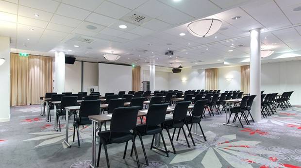 Modern and spacious conference area at Aurora Hotel in Tromso