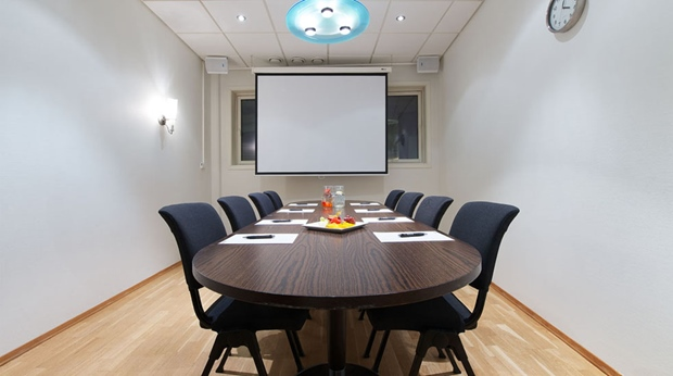 Large meeting room at Aurora Hotel in Tromso
