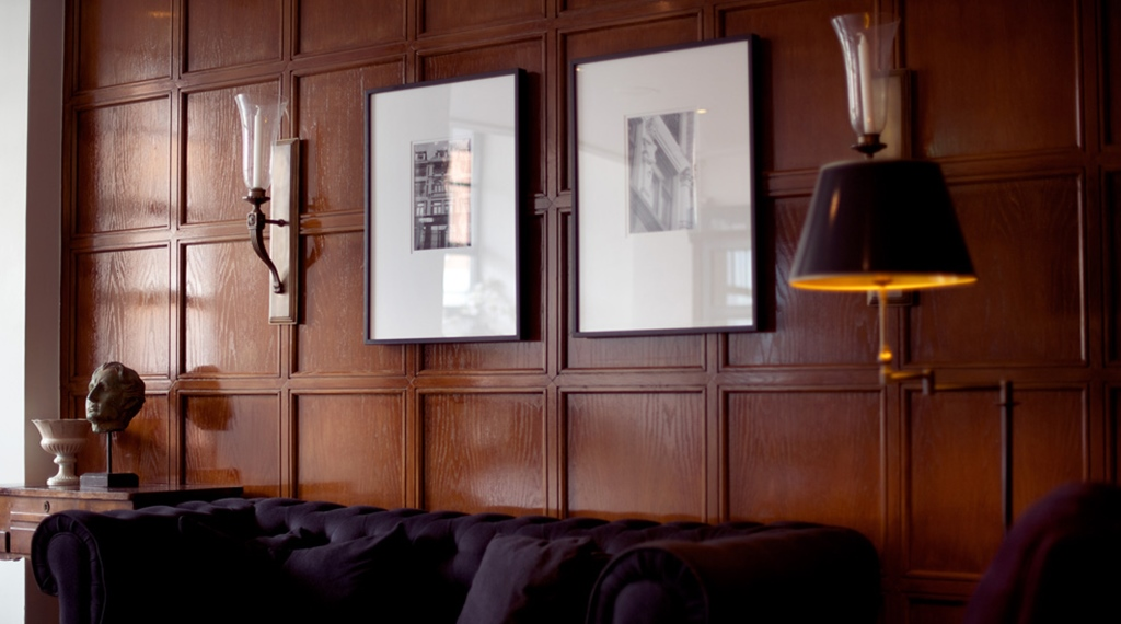 Stylish interior design at Bastion Hotel in Oslo