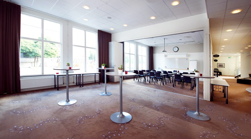Extensive conference area at Bolinder Munktell Hotel in Eskilstuna