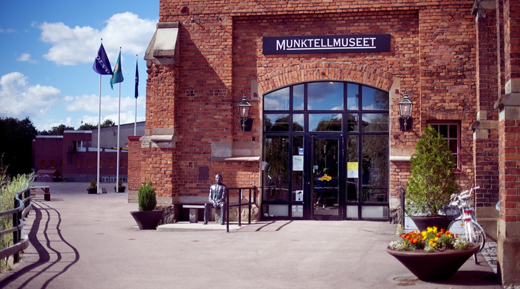 Enjoy the Munktell Museum by Bolinder Munktell Hotel in Eskilstuna