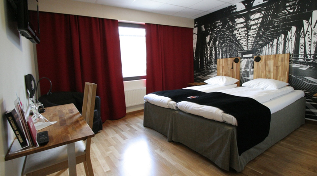 Standard double room at Comfort Hotel Bristol in Arvika
