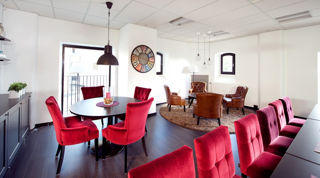 Well-furnished and cosy conference lounge at Carlscrona Hotel in Karlskrona