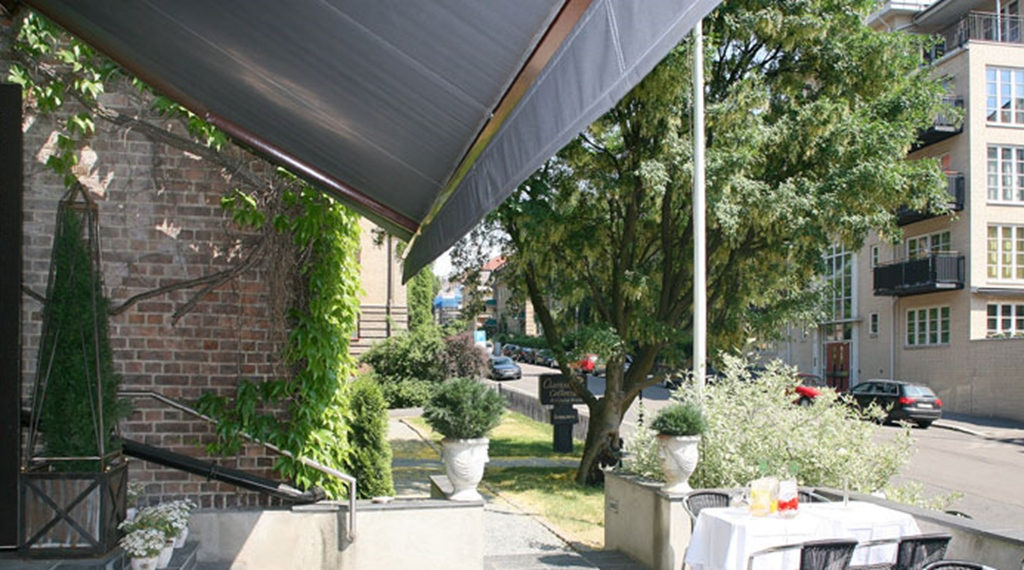 Outdoor area for guest at Gabelshus Hotel in Varberg