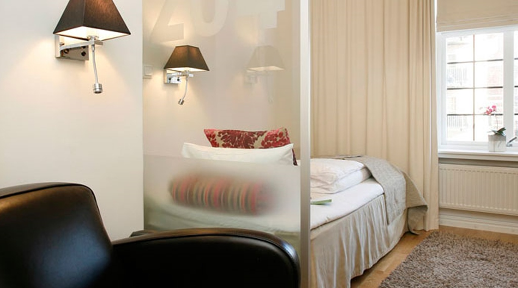 Trendy standard single room at Gabelshus Hotel in Oslo