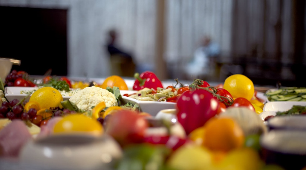 Detail image of vegetables on the buffet at Clarion Collection Hotel Grand Bodø in Norway