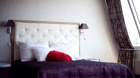 Bright and well-furnished suite at Grand Olav Hotel in Trondheim