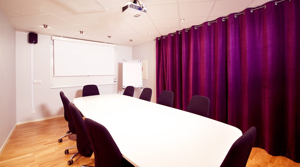 Meeting room area at Kompaniet Hotel in Nykoping