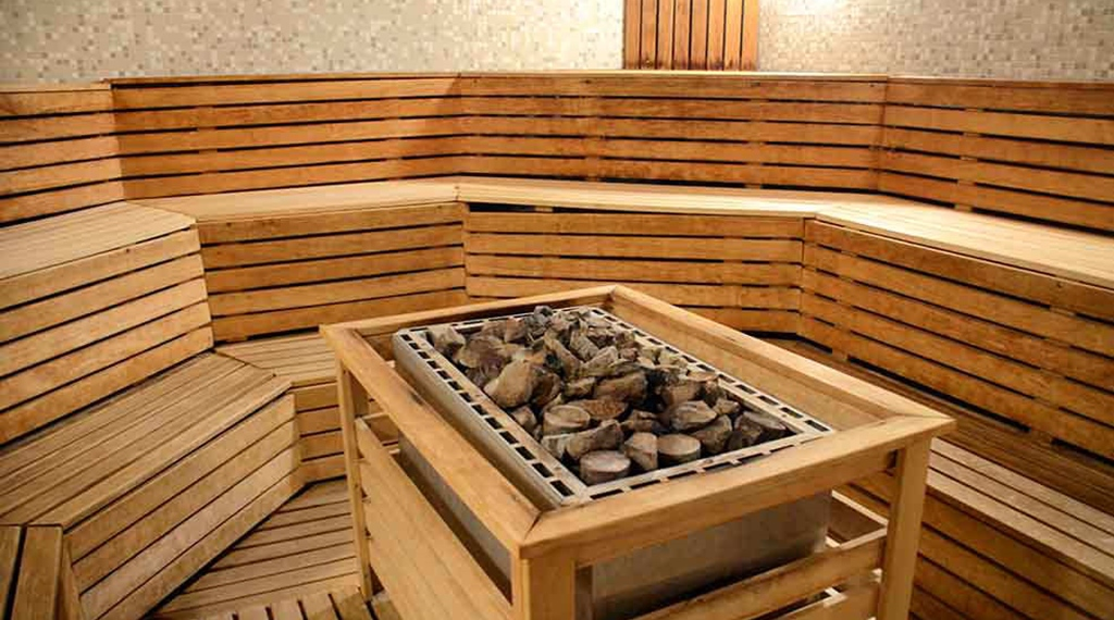 Relax with sauna stones details at Clarion Collection Hotel Kompaniet Nyköping