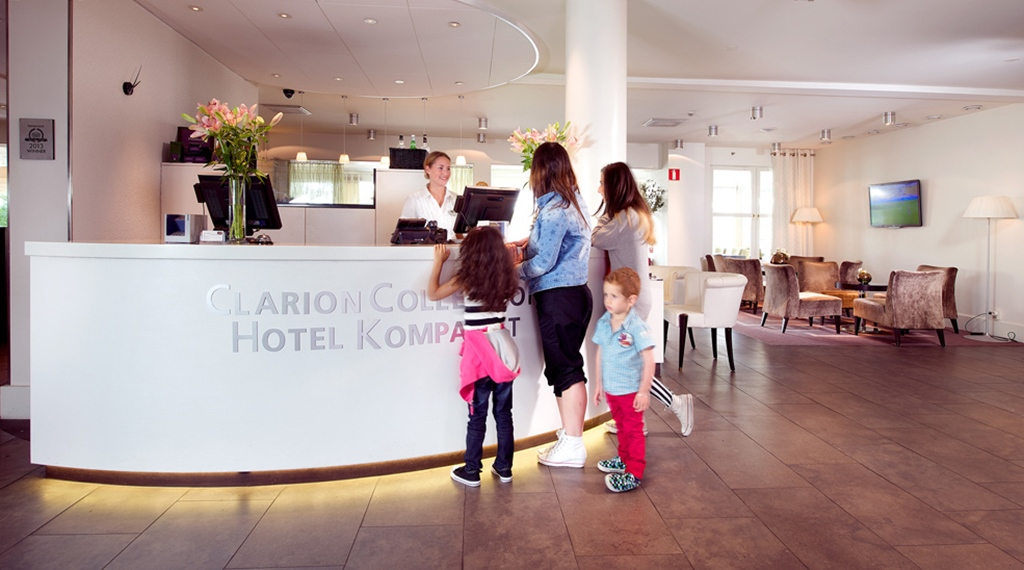Welcoming reception at Kompaniet Hotel in Nykoping