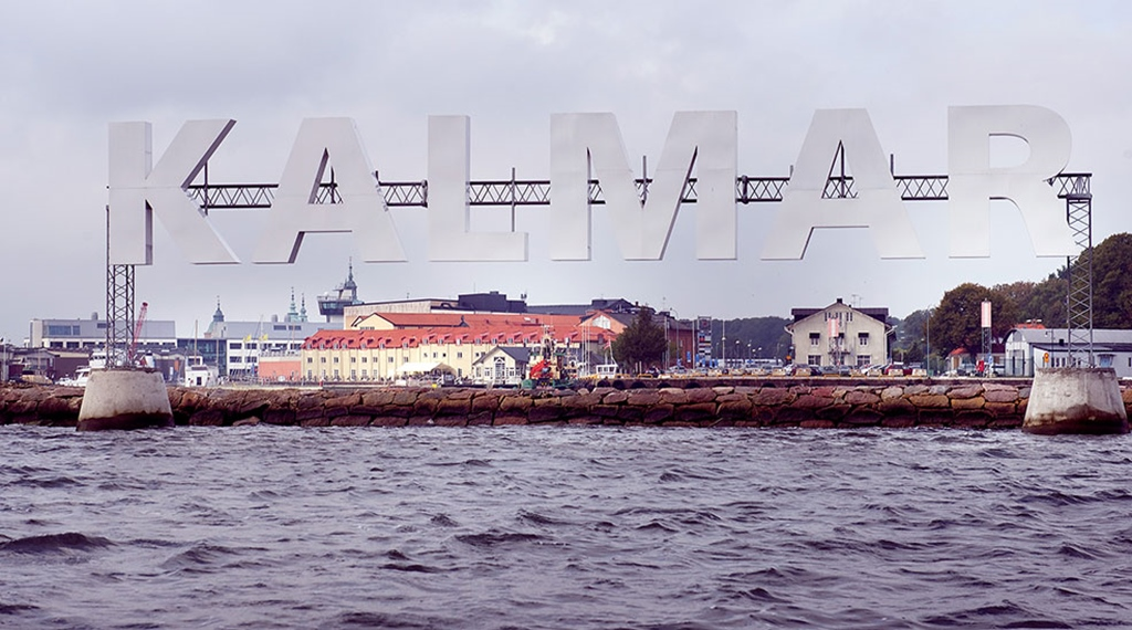 Location in the Kalmar harbour and nearby surroundings at Packhuset Hotel in Kalmar