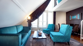 Fashionable and bright suite at Skagen Brygge in Stavanger