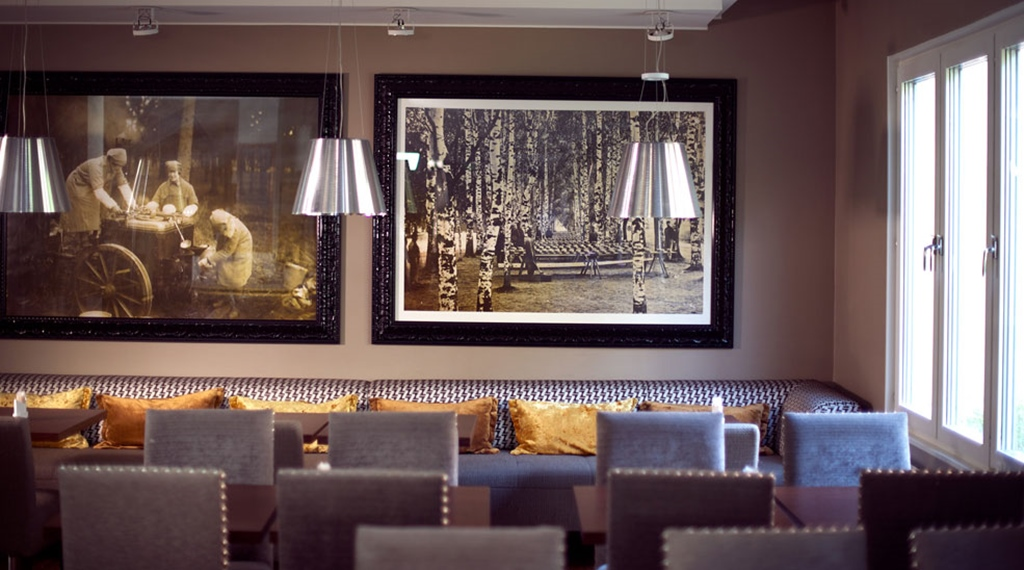 Stylish and comfortable dining room at Tapto Hotel Stockholm