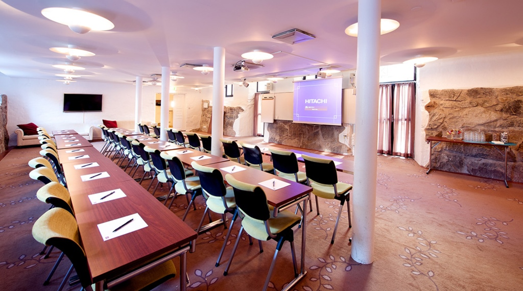 Rustic, spacious and well-equipped conference area at Victoria Hotel in Jonkoping