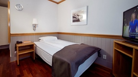 Modern and well-equipped single room at With Hotel in Tromso