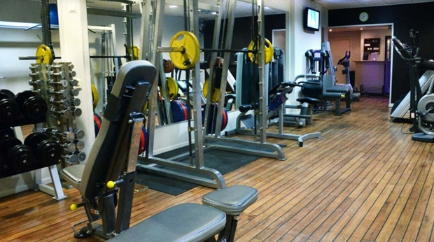 Take advantage of the modern fitness machines in the gym at Amaranten Hotel in Stockholm