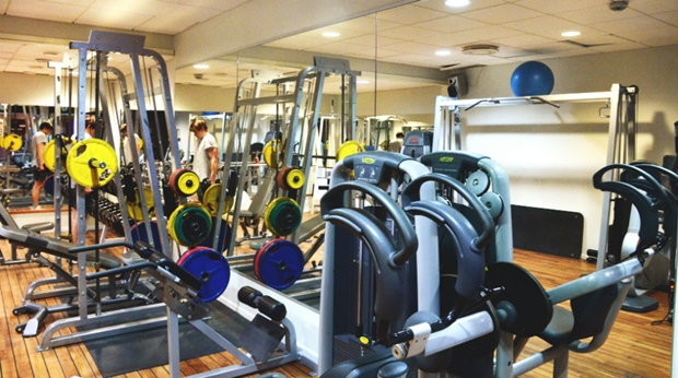 Modern and well-equipped fitness facilities at Amaranten Hotel in Stockholm