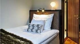Cosy and well-furnished single room at Amaranten Hotel in Stockholm