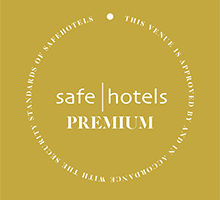 Clarion Hotel Arlanda Airport received Safehotel's Premium Certification in November 2014.