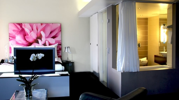 Stylish and well-furnished junior suite at Bergen Airport Hotel in Bergen