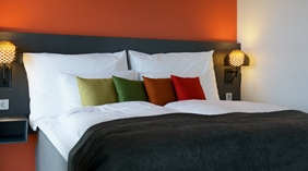 Standard double room with two single beds at Energy Hotel in Stavanger