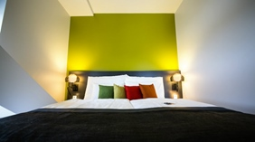 Modern and comfortable superior double room at Energy Hotel in Stavanger