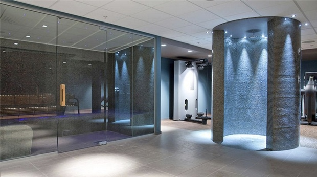 Modern and relaxing spa at Ernst Hotel in Kristiansand