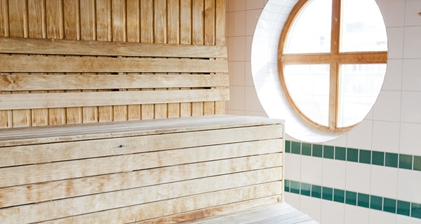 Traditional quality sauna at Hotel Orebro