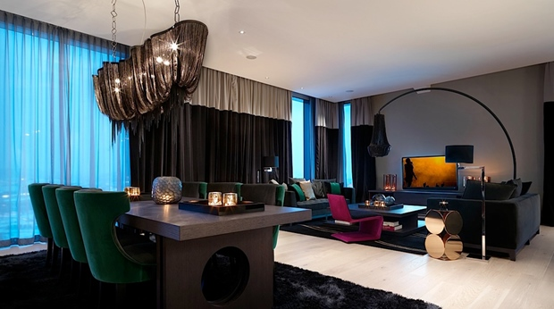 State of the art hotel suite with an amazing view at Post Hotel in Gothenburg