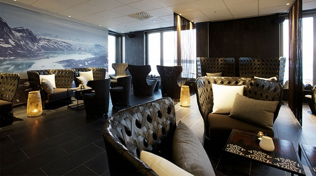 Complete relaxation in the hotel spa lounge at Sense Hotel in Lulea