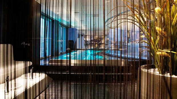 Enjoy the amazing indoor pool area at Sense Hotel in Lulea
