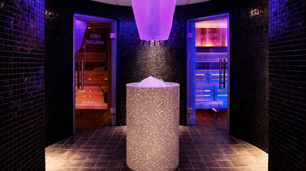 Modern and relaxing spa at Sense Hotel in Lulea