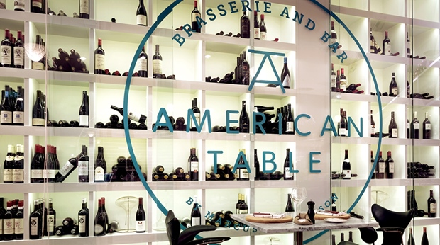 The American Table restaurant at Sign Hotel in Stockholm