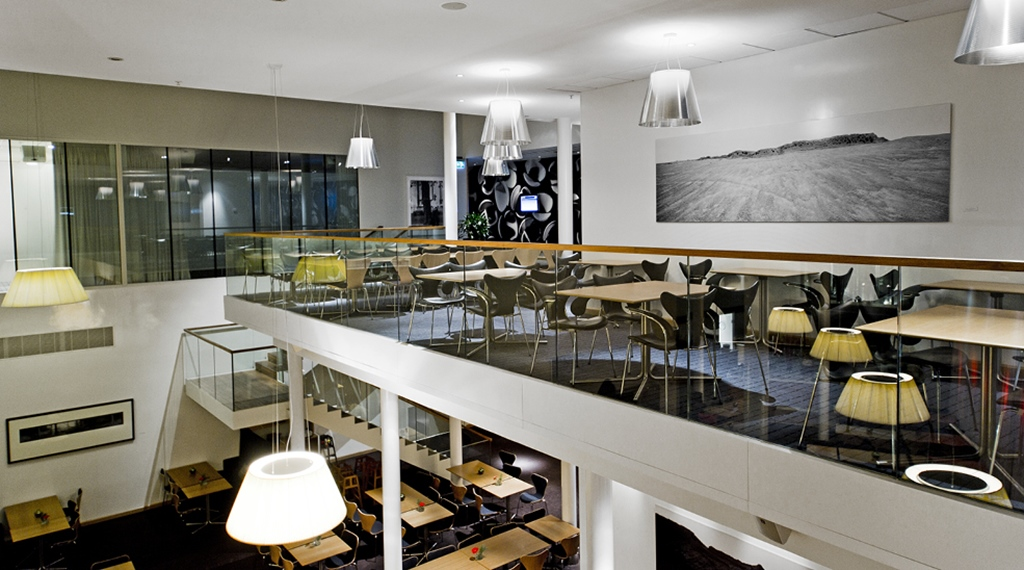 The Hyllan conference lounge at Sign Hotel in Stockholm