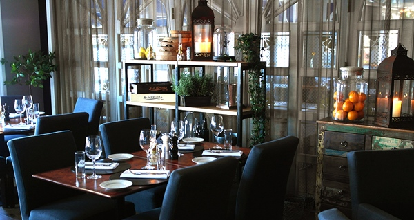 The first-class Kitchen & Table restaurant at Tyholmen Hotel in Arendal
