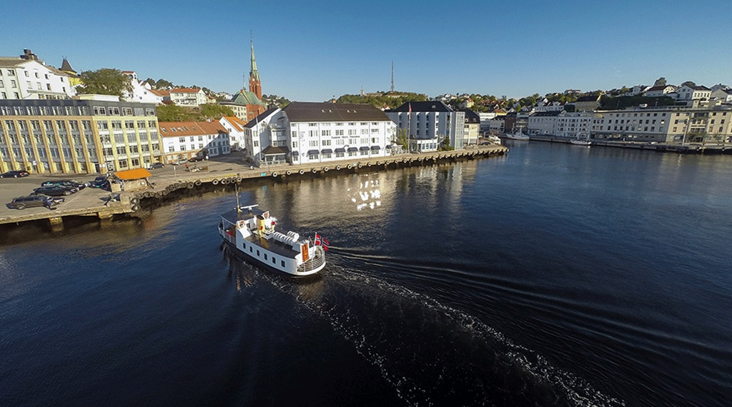 The nearby surroundings at Tyholmen Hotel in Arendal