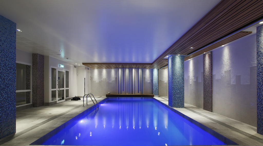 Take advantage of the large indoor hotel pool at Winn Hotel in Gavle