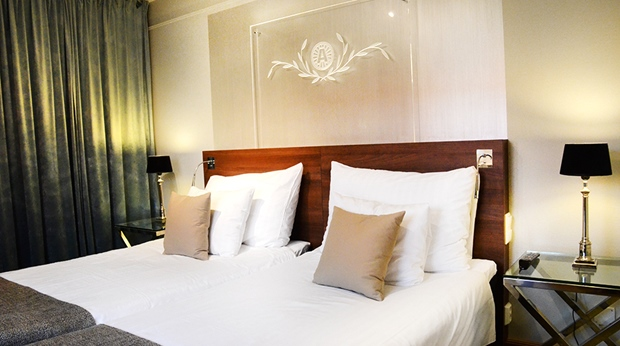 Stylish and comfortable suite at Winn Hotel in Gavle