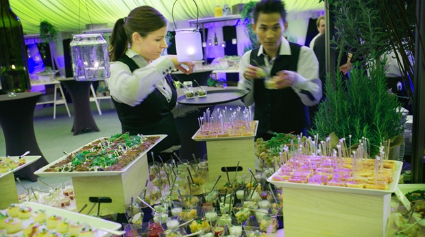First-class catering during an event at Wisby Hotel in Visby