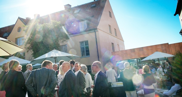 Outdoor event at Wisby Hotel in Visby
