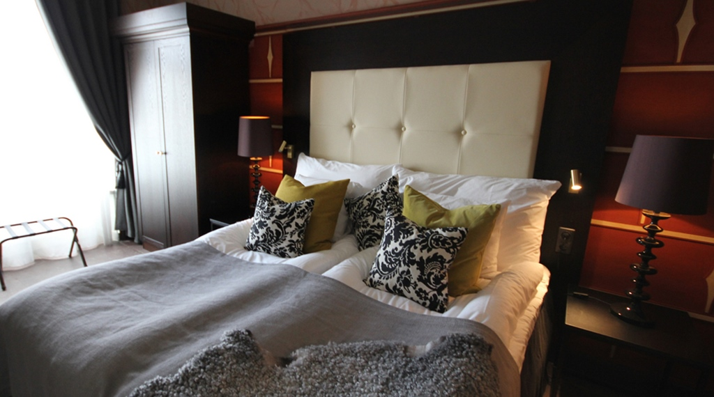 Luxurious and comfortable family suite at Wisby Hotel in Visby