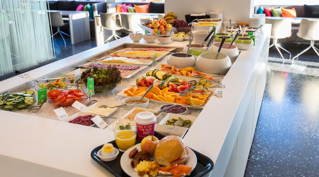 Delicious breakfast buffet at Comfort Hotel Eskilstuna