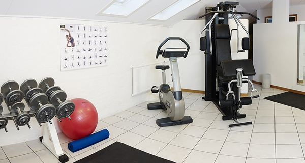 Fitness and gym at Comfort Hotel Jazz in Boras