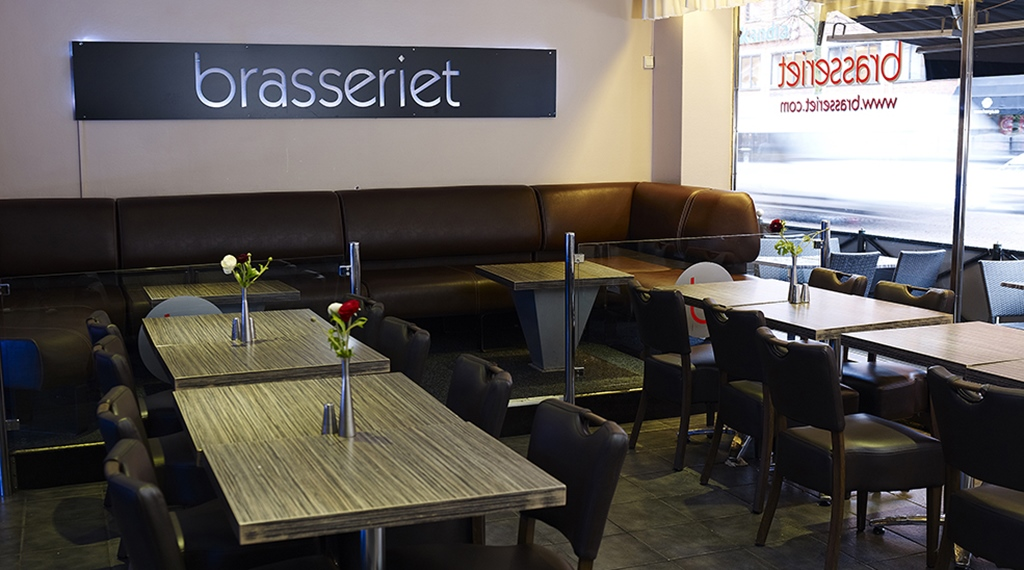 Modern Brasserie Restaurant at Comfort Hotel Jazz in Boras