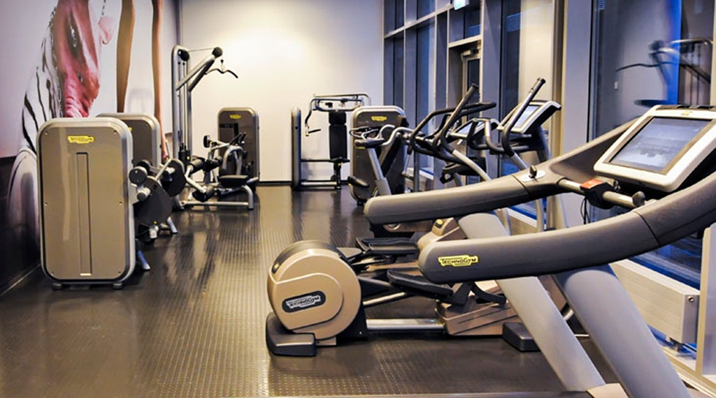 Gym facilities at Comfort Hotel Square in Stavanger