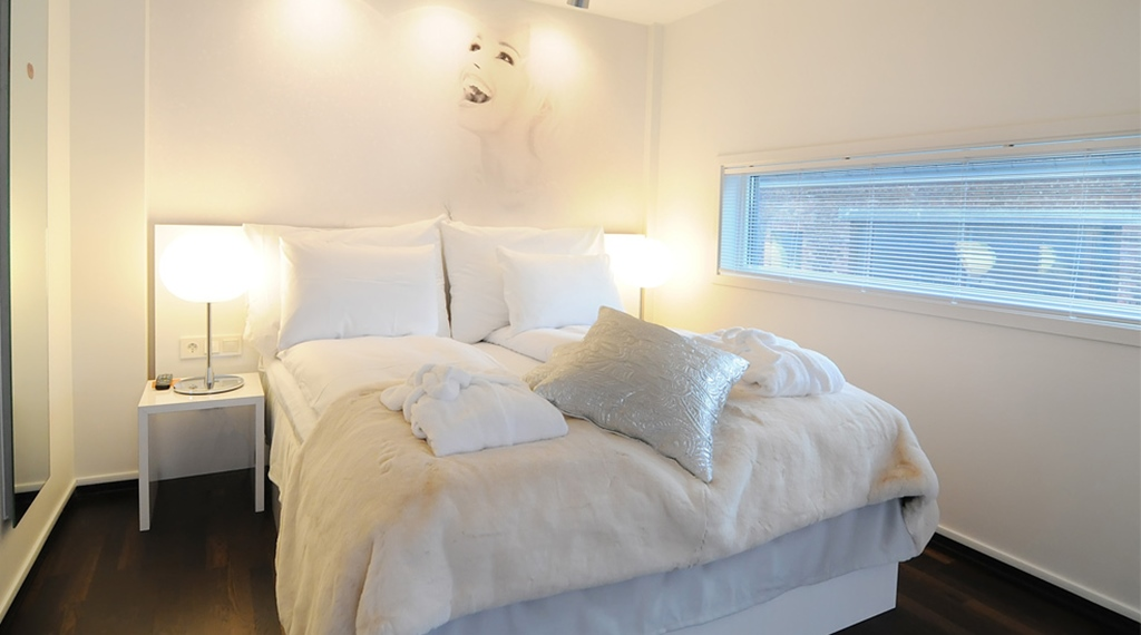 Bright suite at Comfort Hotel Union Brygge in Drammen